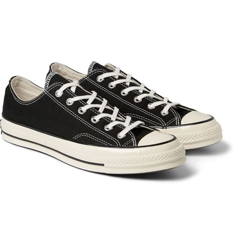 black converse sneakers converse unisex 1970 s chuck all lo sneakers
