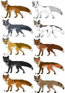fox colors fox adopts batch 1 all sold by kaisertiger on deviantart