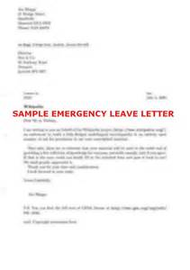 Leave Of Absence Letter Sle Pdf Leave Letter 42 Images Maternity Leave Letter Sle To