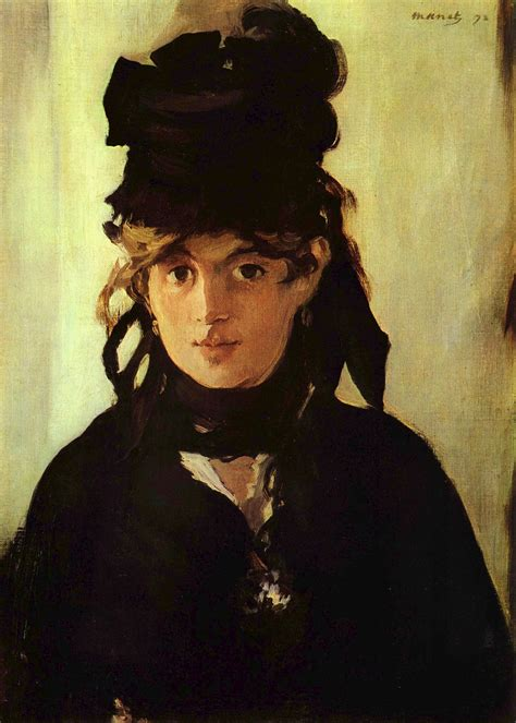 Berthe Morisot In The Dining Room by File Edouard Manet 040 Jpg Wikimedia Commons