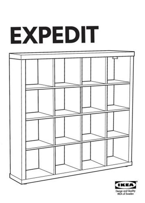 Expedit Shelf Dimensions by Expedit Bookshelf Germany