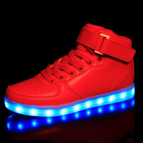 light up shoes size 6 aliexpress com buy size 25 46 kids light up shoes for