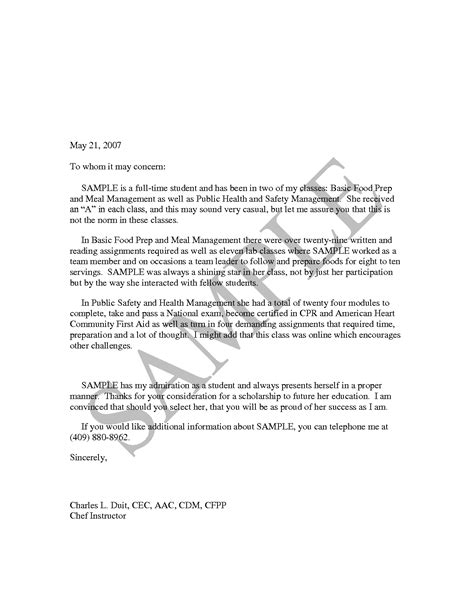 Basic Business Reference Letter best photos of basic letter of recommendation template