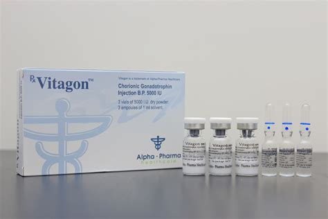 Vitagon Alpha Pharma 5000iu vitagon 5000 hcg by alpha pharma