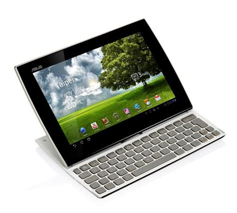 Tablet Android Asus asus eee pad slider sl101 android tablet with built in keyboard gadgetsin