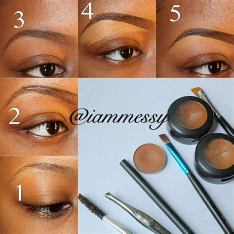 tutorial makeup eyebrow eyebrow tutorial make up for the love of beauty