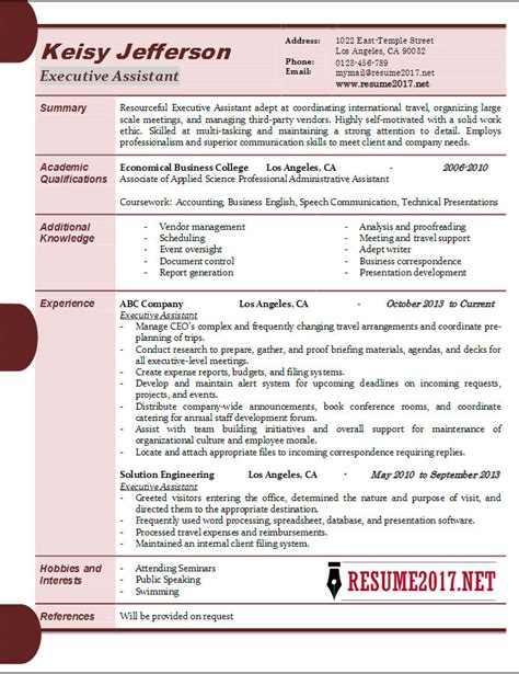 administrative support resume sample clever photos administrative