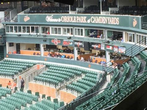 club box seats camden yards eutaw experience picture of oriole park at camden