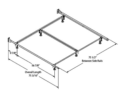 King Size Bed Frame Dimensions Bed Frame For King Bedding