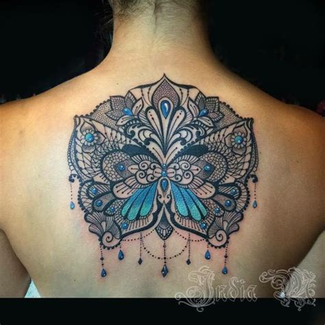india m makinucci lace butterfly tattoo makinucci