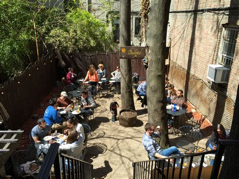 backyard bar brooklyn 66 outdoor dining options in park slope