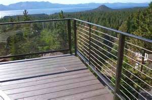 Steel Deck Handrails Complete Stainless Steel Cable Railing Systems By