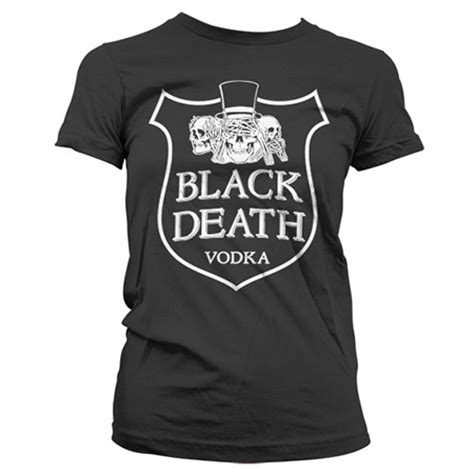 T Shirt Black Vodka black vodka gilry t shirt