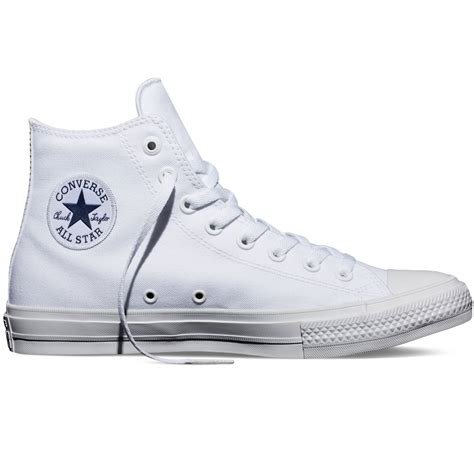 Converse High Ct White converse converse ct ii as hi canvas white n61 150148c unisex trainers converse from