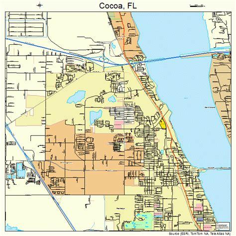 cocoa florida map 1213150