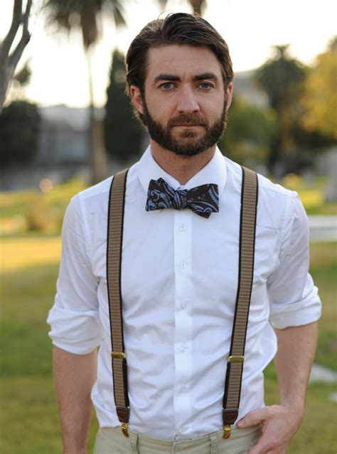 2013 music video suspenders beard 10 ways to rock a bow tie