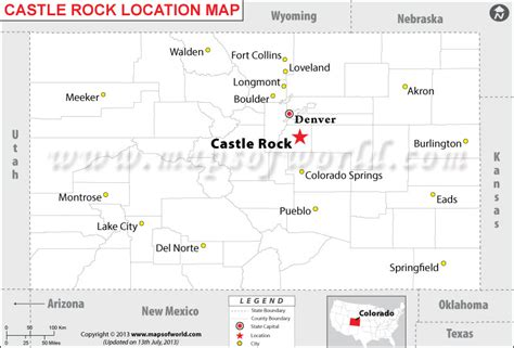 where is castle rock colorado