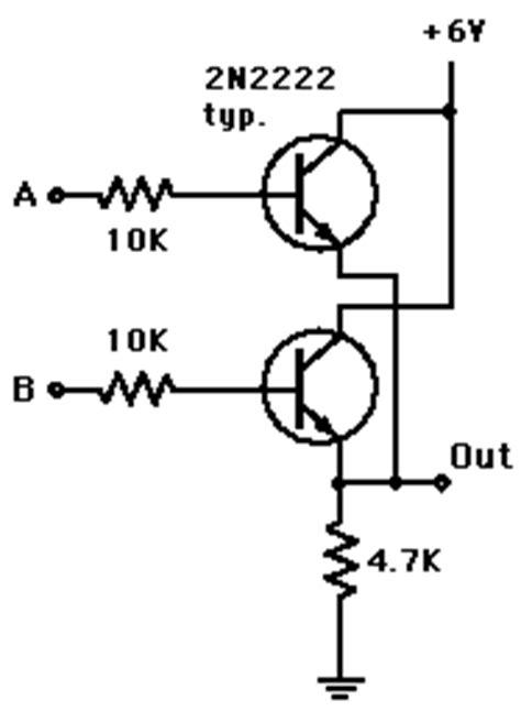 transistor or gate transistor gates