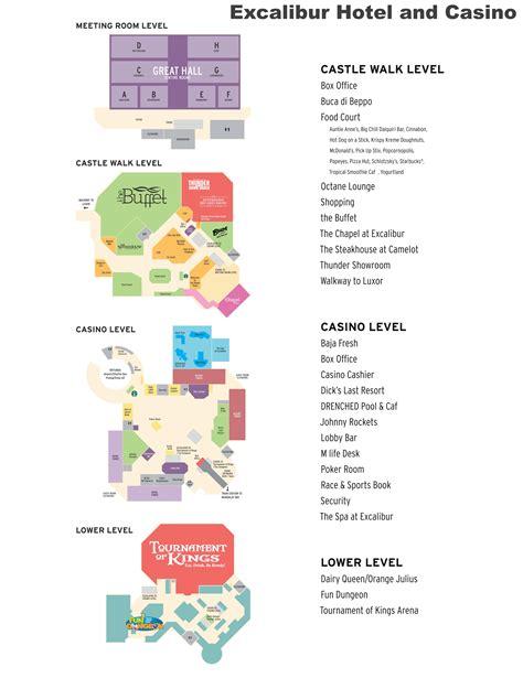 casino in usa map las vegas excalibur hotel map