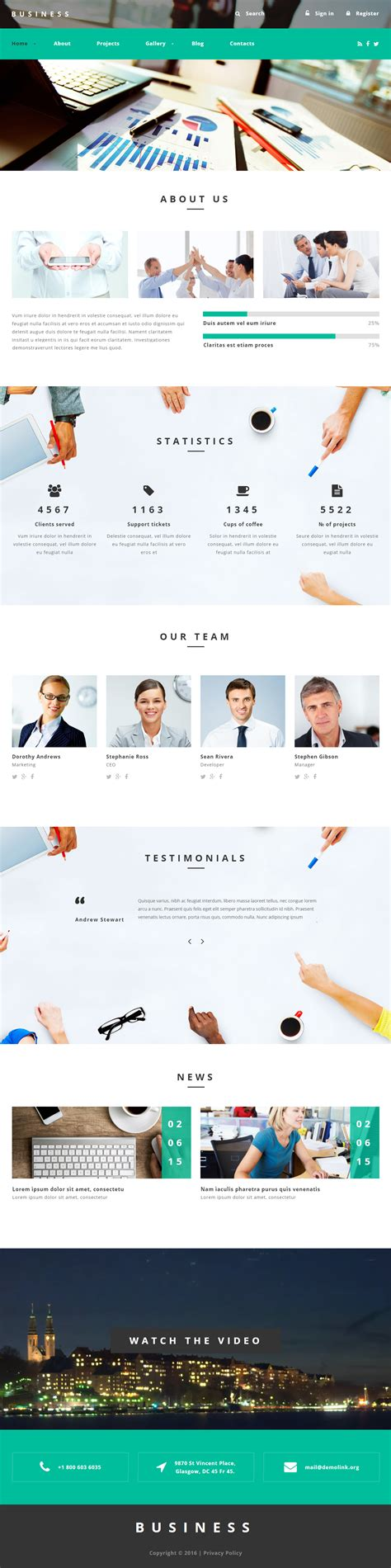 drupal themes responsive business business agency premium responsive drupal template