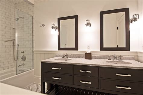 Antiqued Mirror   Contemporary   bathroom   Alys Beach