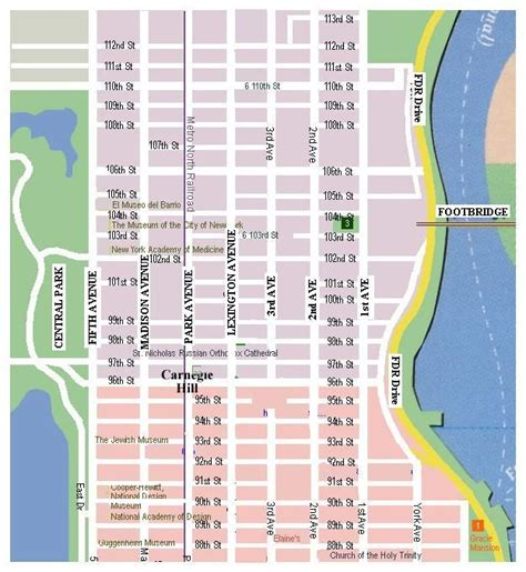printable new york map new york map print