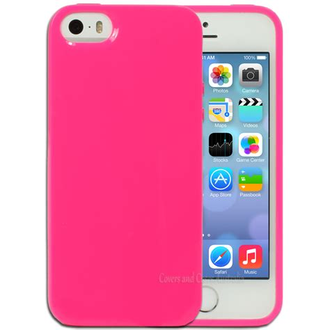 Iphone 5 5s Pink pink jelly for apple iphone 5 5s se