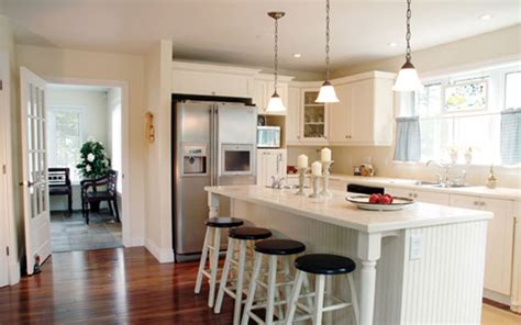 one wall kitchen layout with island house experience