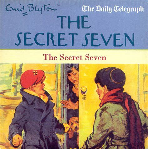 secret seven on the the secret seven by enid blyton