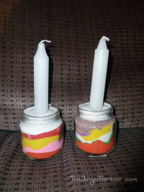 shabbat candle holders diy time to light shabbat candles hebrew school crafts crafts search and kid