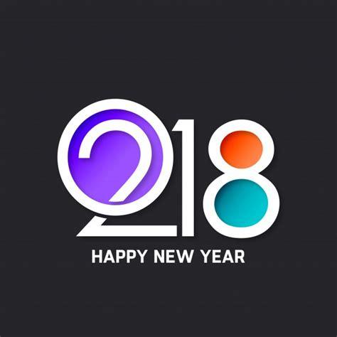 modern new year vector design modern new year 2018 design vector free