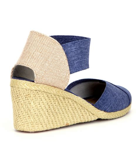 Flatshoes Charla by ralph charla espadrilles in blue lyst
