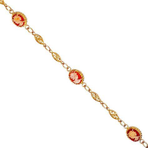 Bracelet or, bracelet camée, filigrane, vente achat en ligne, bijouterie   Bijouterie Briant