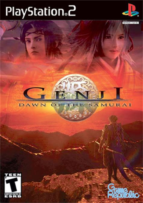 soundtrack film genji genji dawn of the samurai playstation 2 box art cover by