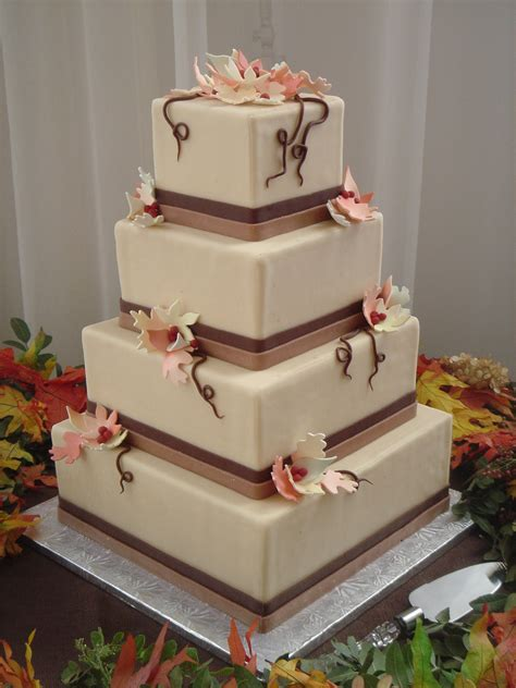 Wedding Cakes Designs And Prices by Square Fall Wedding Cakes Www Imgkid The Image Kid