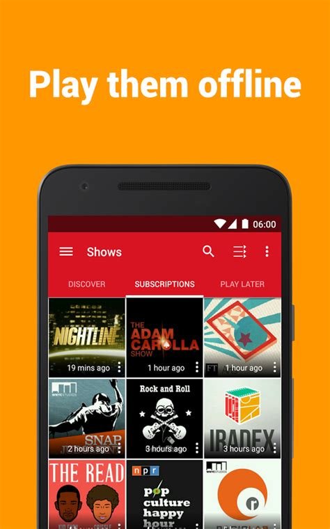 podcast players for android podcast player lecteur de podcast gratuit android zone