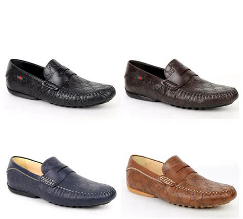 gucci loafers shoes for new gucci s guccissima leather loafer moccasin driver