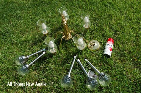 Solar Powered Chandelier Diy Solar Chandelier All Things New Again