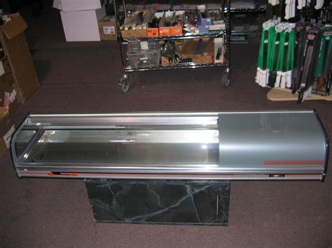 comersa sushi countertop refrigerated display used