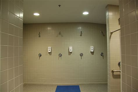 S Locker Room Shower by Visitor S Locker Room Showers Flickr Photo