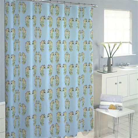 horse shower curtain sea horse shower curtain