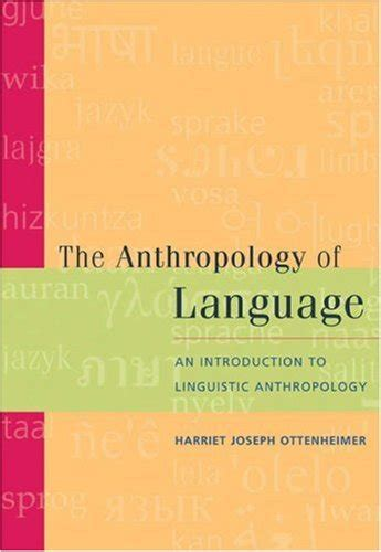 the anthropology of language an introduction to