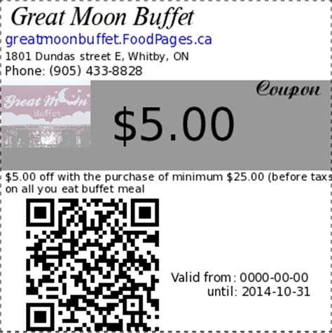 moon buffet coupon coupons of great moon buffet 1801 dundas e