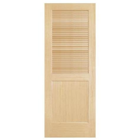 solid core interior doors home depot steves sons louver panel solid core pine interior door