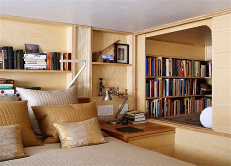 Tiny Nyc Apartment Clever Cubbies Augment Tiny 240 Sq Ft Nyc Apartment
