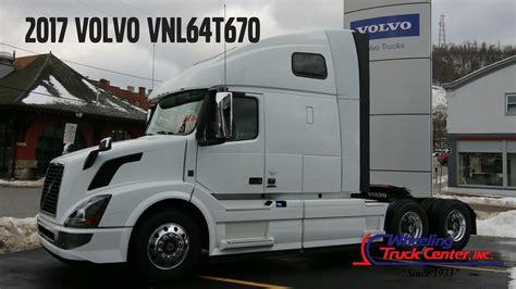 new volvo truck 2017 2017 volvo truck vnl670 tandem axle sleeper new truck for