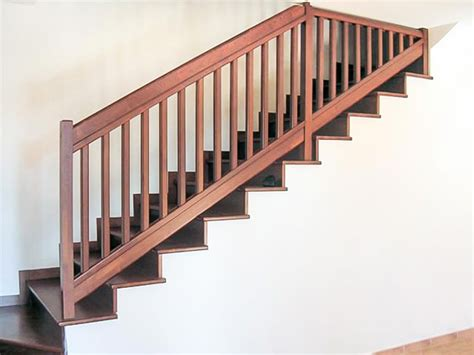 ringhiera scale ringhiera per scale interne installata a bergamo rintal