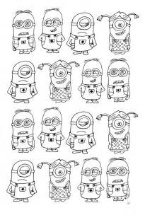 free coloring coloring numerous minions coloring minions education