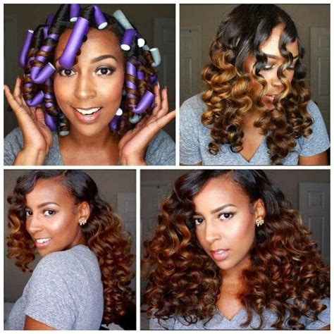 flexi rod hairstyles relaxed hair 25 best ideas about flexi rods on pinterest flexi rod