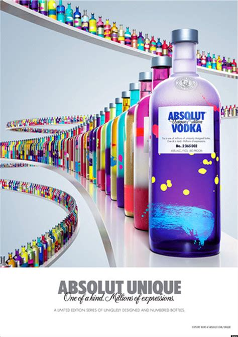 unique media design absolut vodka s unique company releases 4 million one